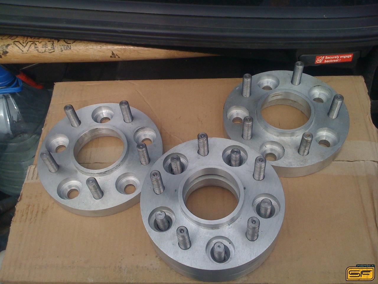 Как самому сделать проставки колес на уаз