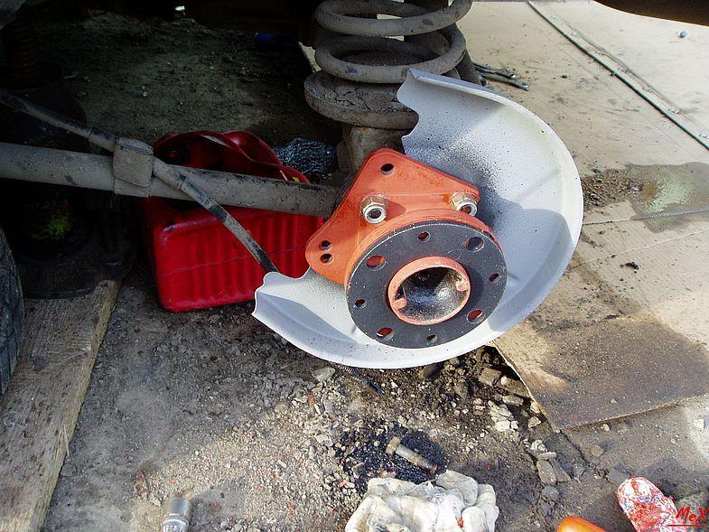 Задние дисковые тормоза для ваз-2107 своими руками