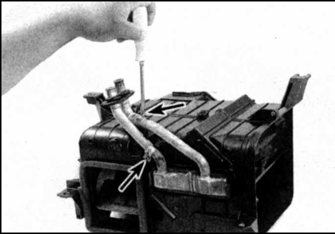 Как снять радиатор печки на тойота