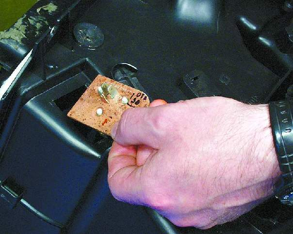 Ваз 2115 где находится резистор печки