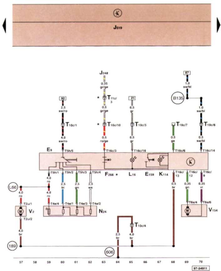 Схема кондиционера автомобиля фольксваген поло5