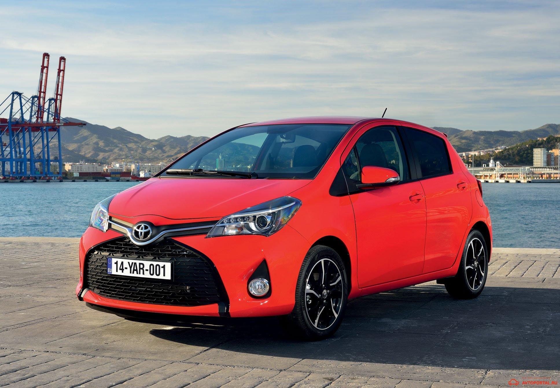 Toyota Yaris - технические характеристики и комплектации
