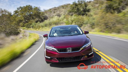 Тест – драйв Honda Clarity Fuel Cell