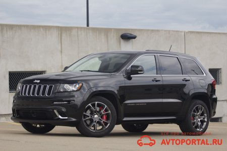 Jeep Grand Cherokee SRT8 черный